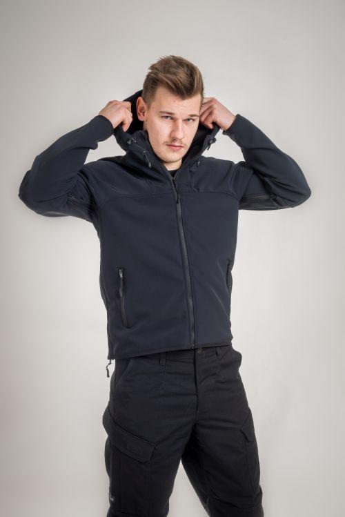 V:TEX - Lagana vjetronepropusna jakna crne boje