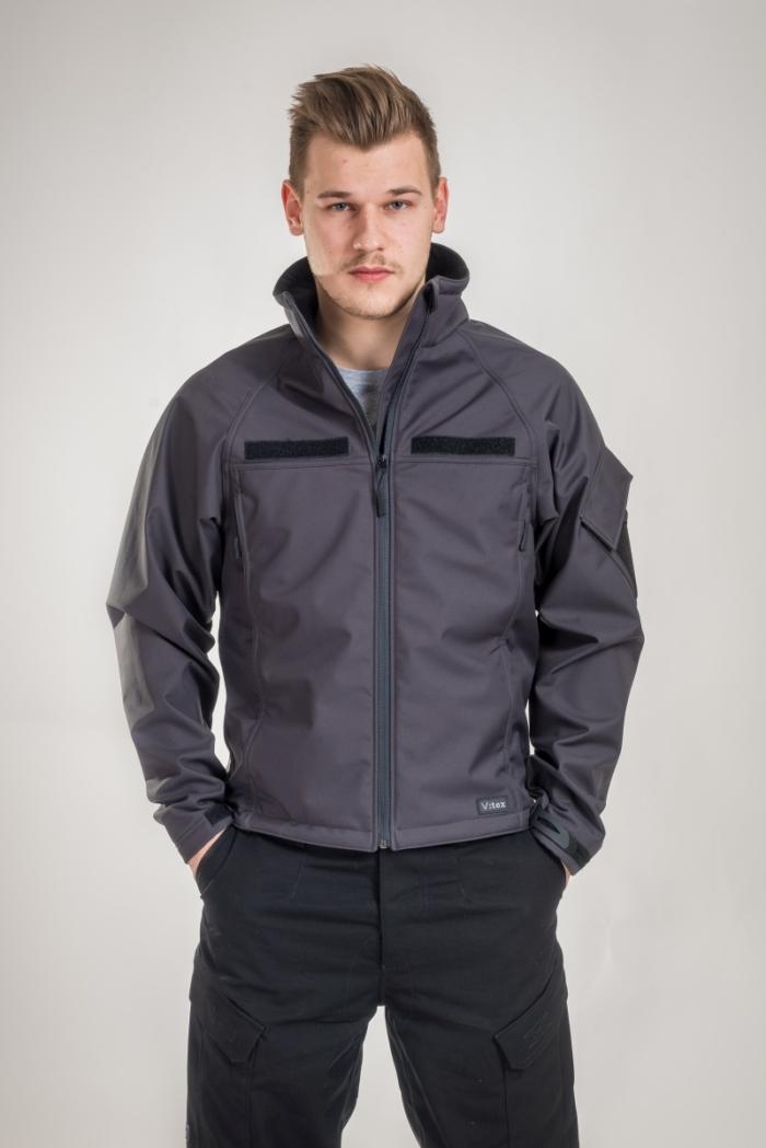 V:TEX - Vjetronepropusna jakna sive boje