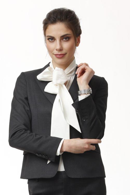 Ženski poslovni sako tamno plave boje