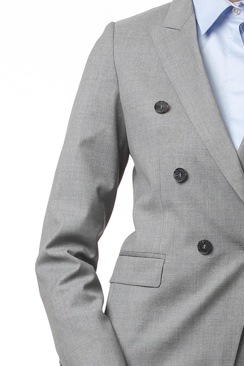 Varteks Limited Edition - Women's business jacket in grey color