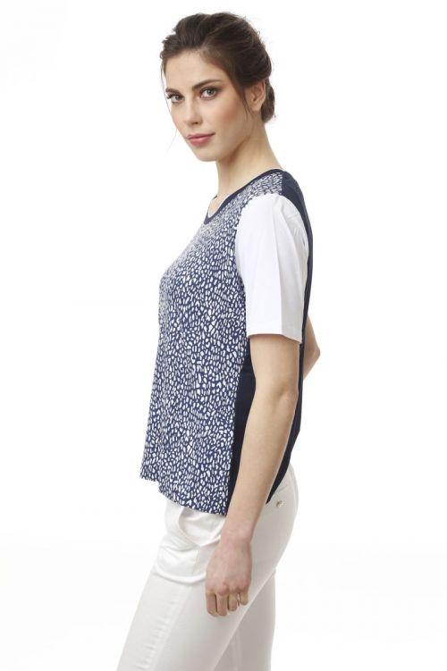 Ležerna ženska majica s printom