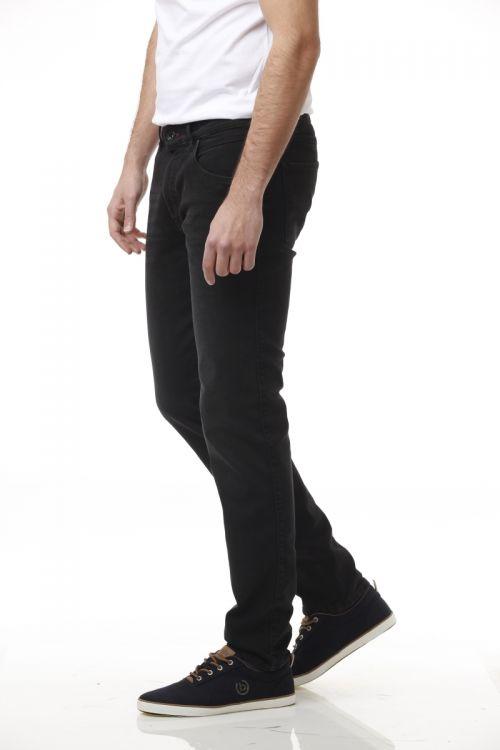 Crne pamučne muške jeans hlače - bugatti