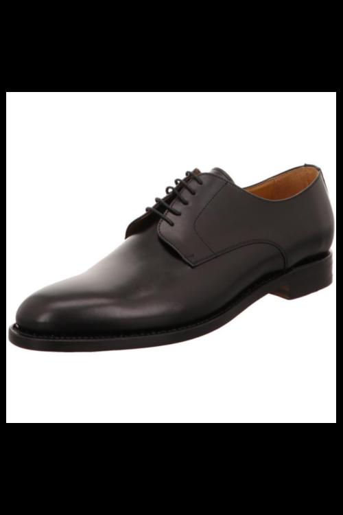 Kožne muške cipele Derby crne boje - Berwick