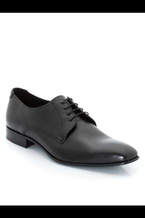 Elegantne kožne crne muške cipele - Lloyd