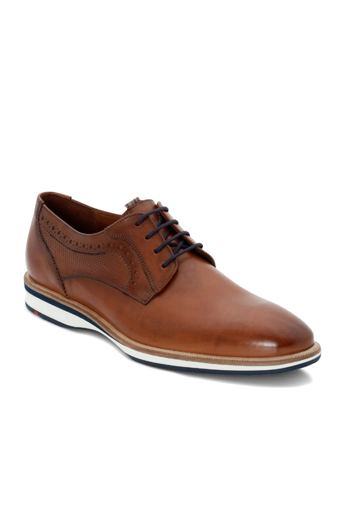 Smeđe kožne muške cipele - Lloyd