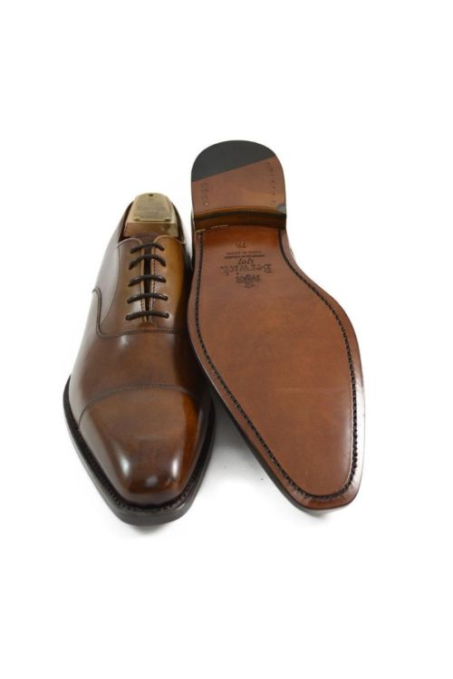 Muške poslovne cipele u smeđoj boji - Berwick