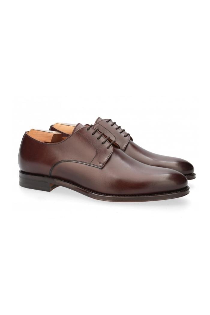 Tamno smeđe muške cipele Derby - Berwick