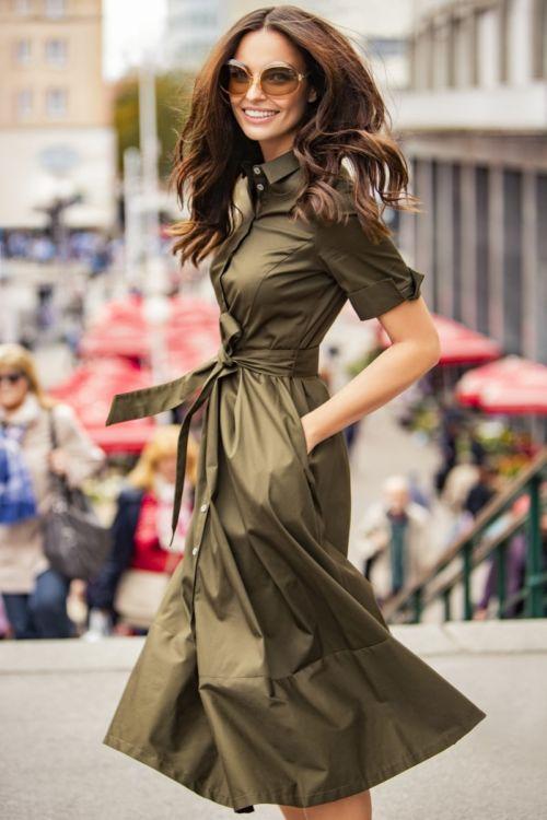 Ženstvena haljina A kroja Varteks