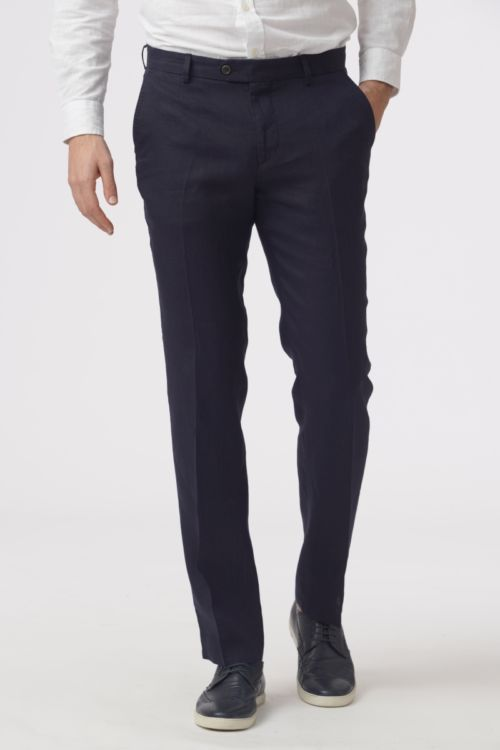 Muške lanene hlače u dvije boje