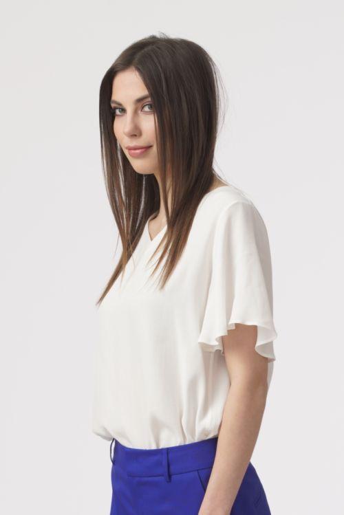 Ženska elegantna lepršava majica u dvije boje