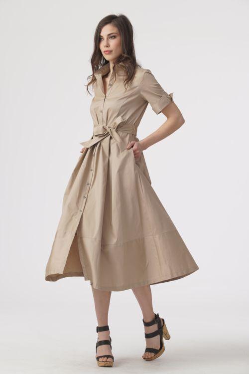 Ženstvena haljina A kroja u dvije boje