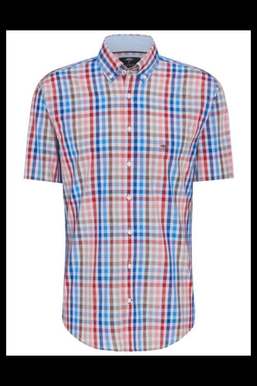 Košulja kratkih rukava u dvije karirane boje - Fynch Hatton