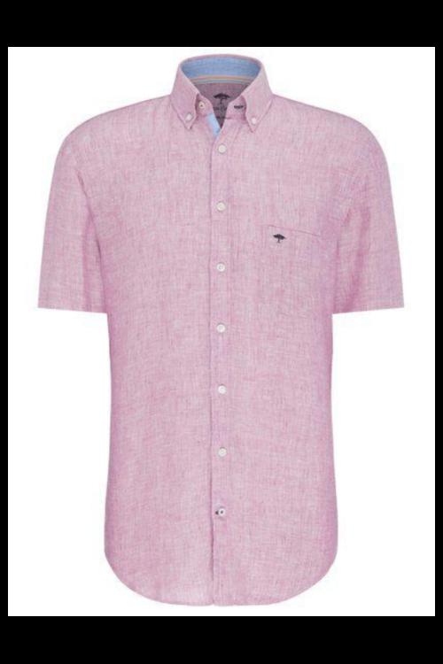 Lanena košulja u plavoj i rozoj boji - Fynch Hatton