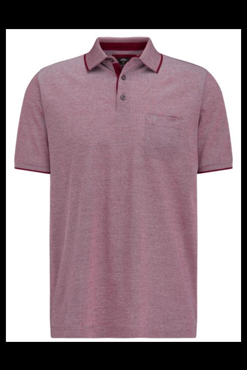 Polo majica crvena sa strukturom - Fynch Hatton