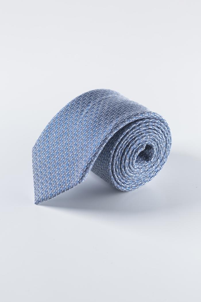 Muška kravata plave boje sa strukturom