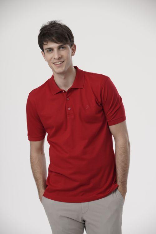 Pamučna muška polo majica u tri boje