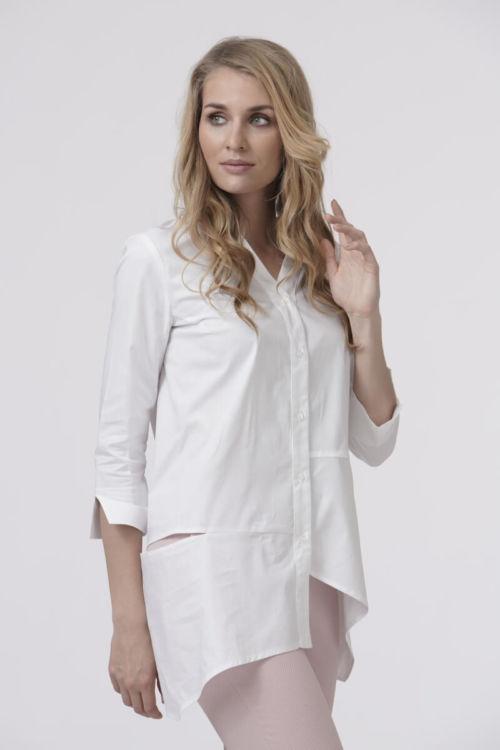 Ženska bluza asimetričnog kroja