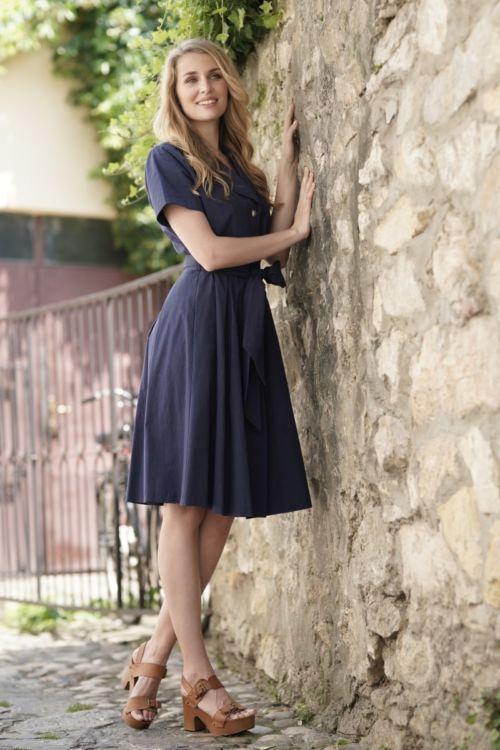 Ženska casual haljina u dvije boje