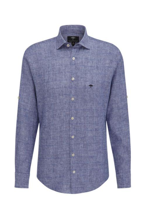 Muška karirana košulja plavih nijansi - Fynch Hatton