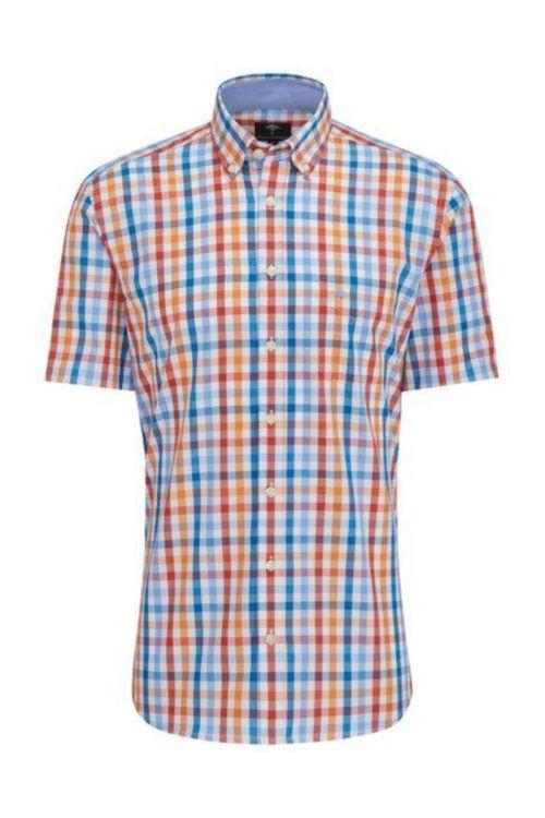 Karirana muška košulja u dvije boje - Fynch Hatton