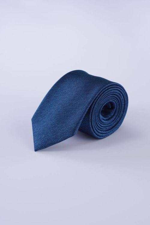 Tamno plava svilena kravata