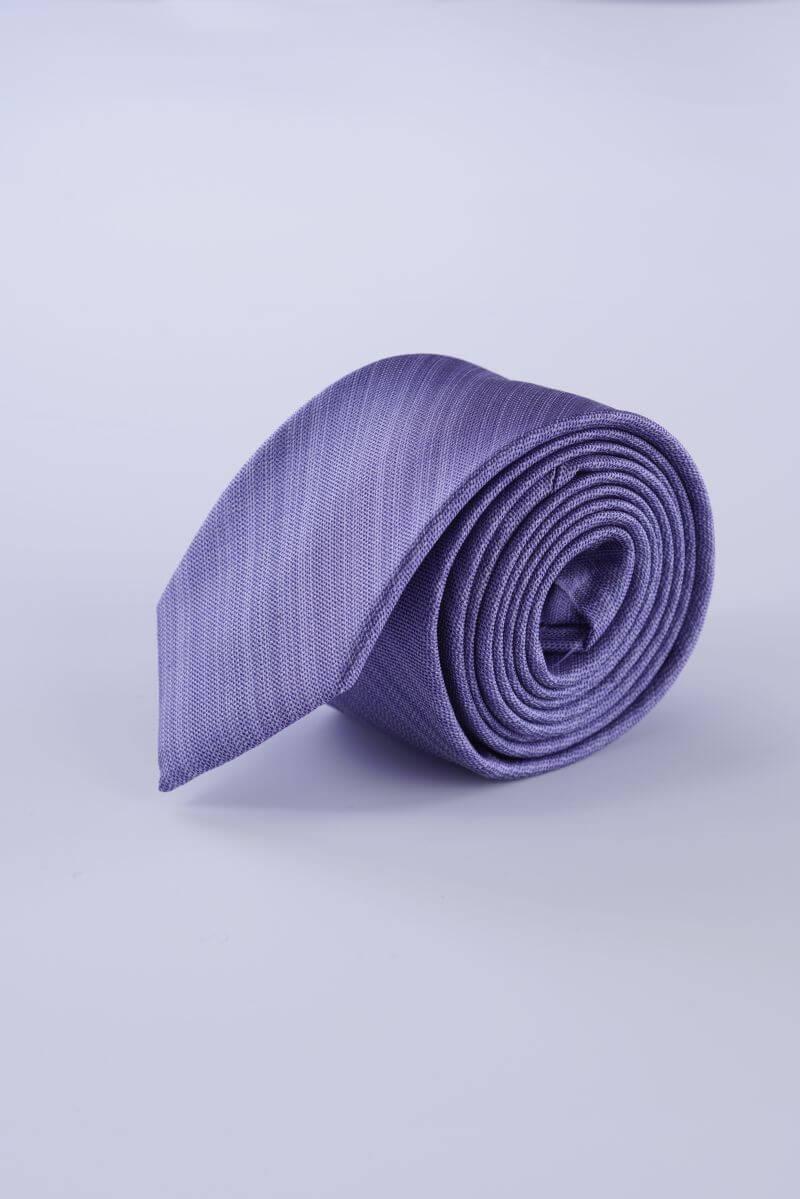 Svilena kravata u tri boje s decentnim uzorkom