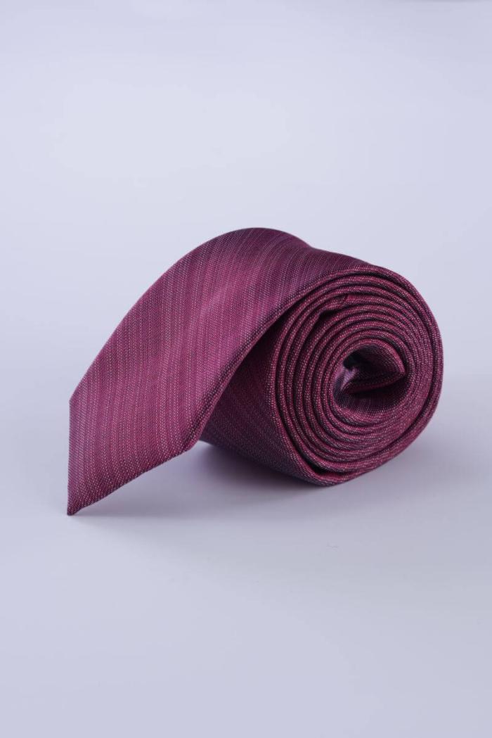 Svilena muška kravata u tri boje sa strukturom