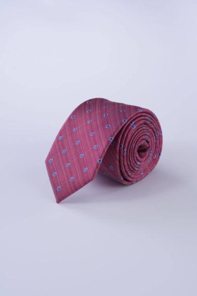 Svilena kravata sa sitnim točkastim uzorkom