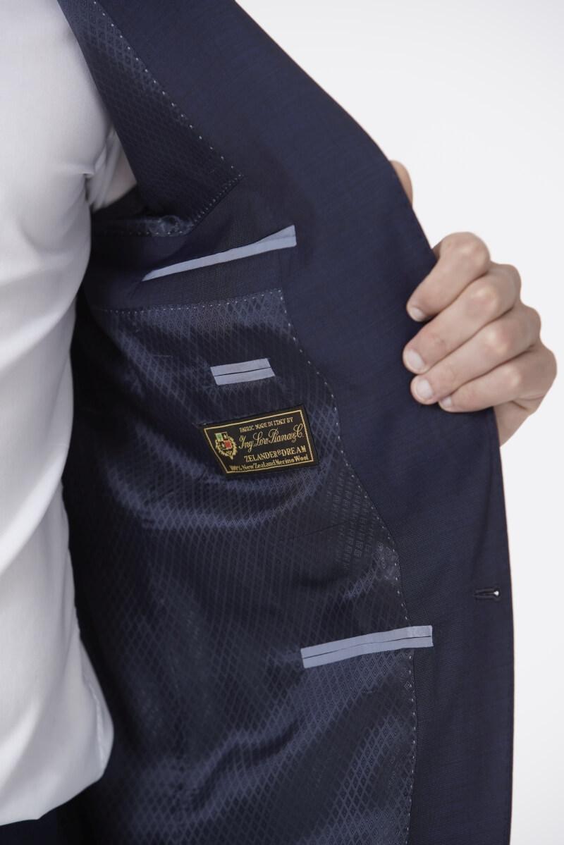 Limited Edition - Muško odijelo od 100% Loro Piana Zelander Dream tkanine