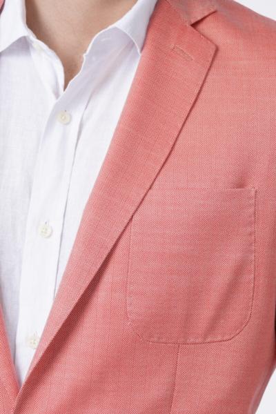 Limited Edition – Muški rozi sako od vune i svile
