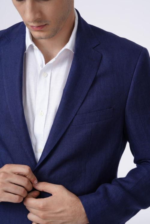 Muški laneni klasični sako u četiri boje