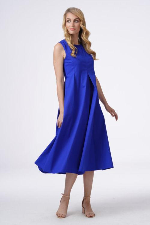 Pamučna ženska haljina u dvije boje