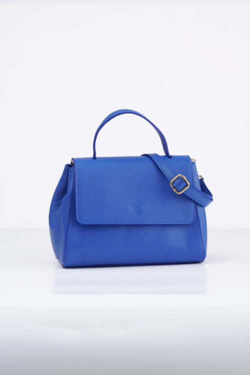 Ženska kožna torba u dvije boje
