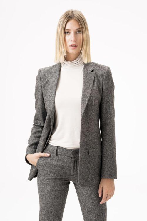 Atraktivni ženski sako sive boje