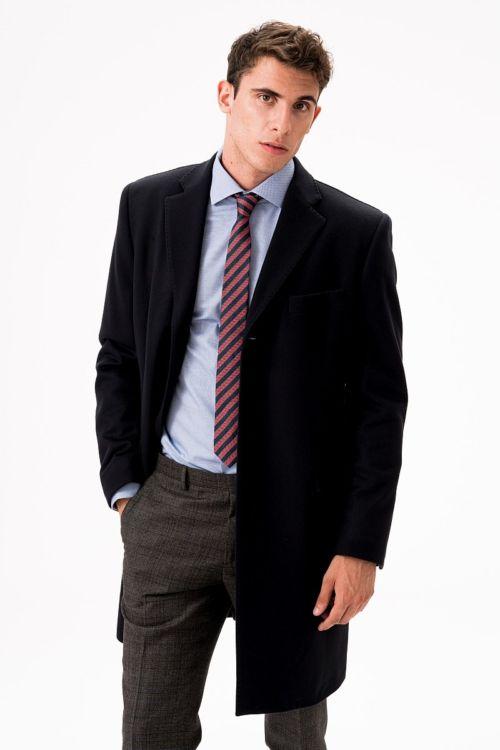 Elegantan muški kaput od runske vune u dvije boje