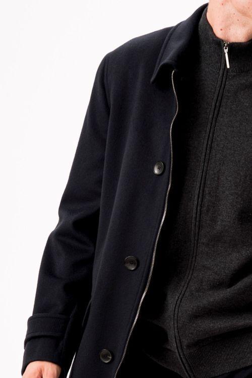 Casual muški kaput od runske vune i kašmira
