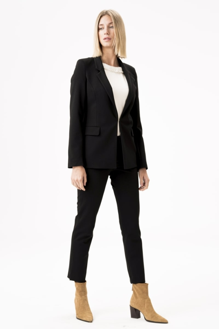Varteks Black women's business jacket