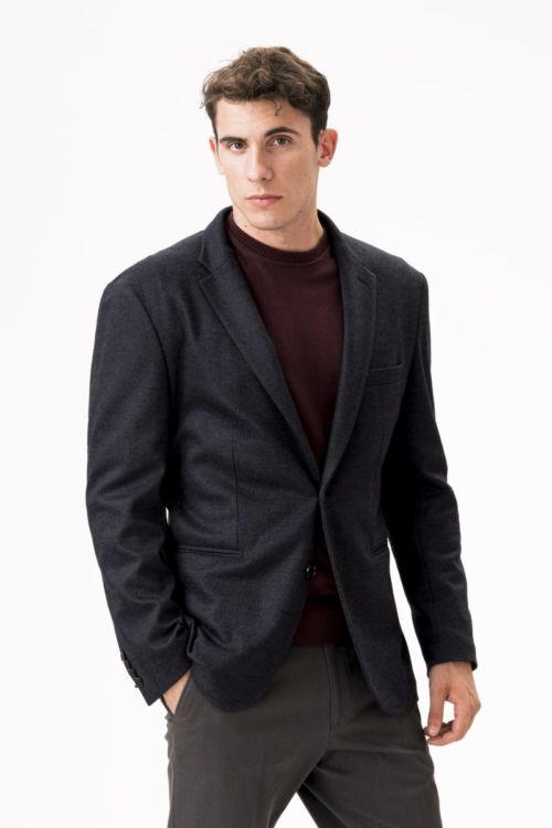 Muški tamno sivi sako - Regular fit