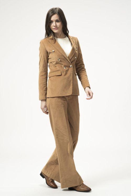 Ženske cord samt hlače u dvije boje