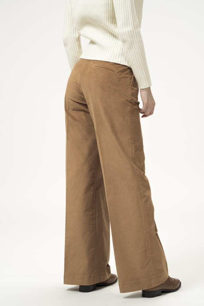 Varteks Women's corduroy pants in two colors