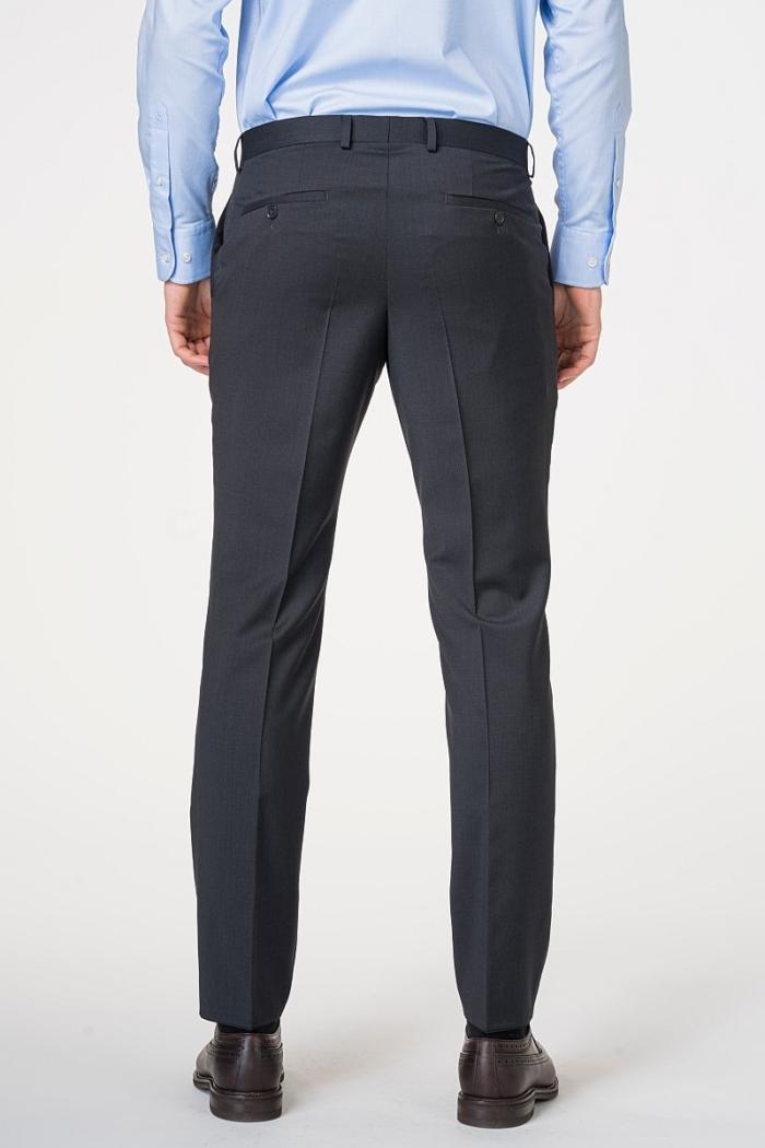 Klasične muške hlače od odijela 120's - Regular fit
