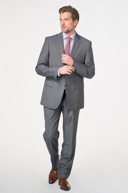 Muško odijelo od runske vune 110's - Comfort fit