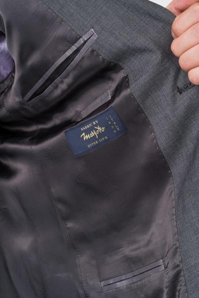 Muški sako od odijela od runske vune 110's - Comfort fit