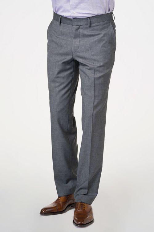 Muške hlače od odijela od runske vune 110's - Comfort fit