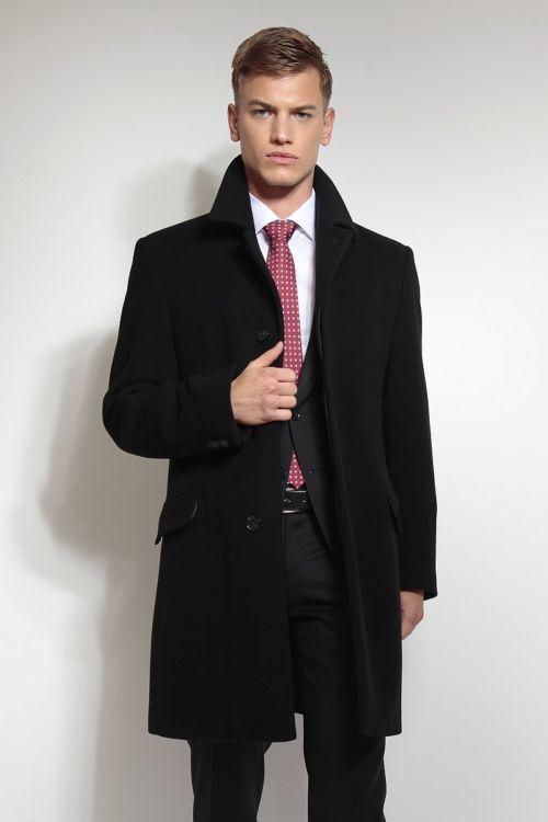 Klasičan muški kaput od runske vune i kašmira