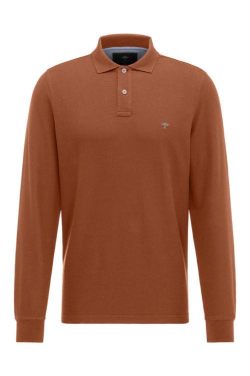 Muška polo majica dugih rukava u tri boje - Fynch Hatton