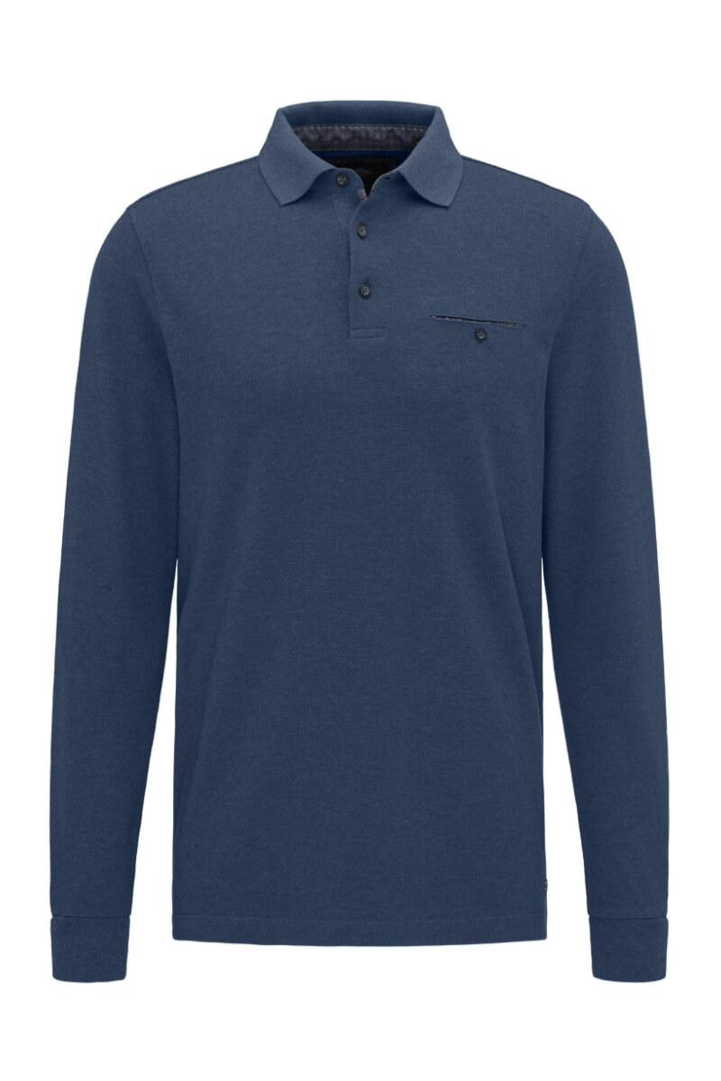 Varteks Men's polo shirt with structure - Fynch Hatton