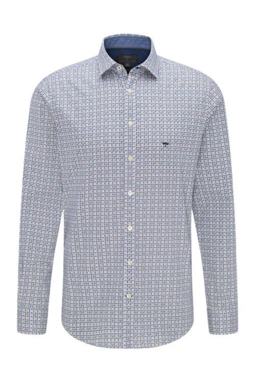 Muška pamučna košulja s atraktivnim printom - Fynch Hatton