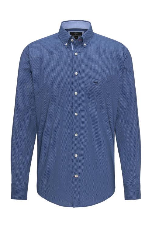 Muška plava košulja sitnog dezena - Fynch Hatton