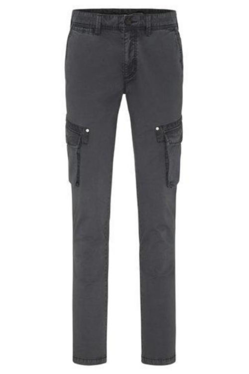 Muške cargo hlače u dvije sive nijanse - Fynch Hatton